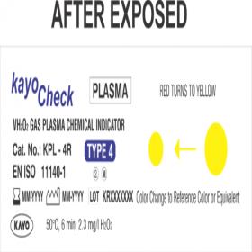 KayoCheck Plasma Hydrogen Peroxide (VH2O2) Gas Indicator